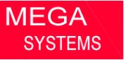 Логотип компании Mega-systems